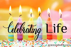 Celebrating Life Even if You don't Feel Like Celebrating